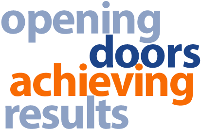 opening doors, achieving results